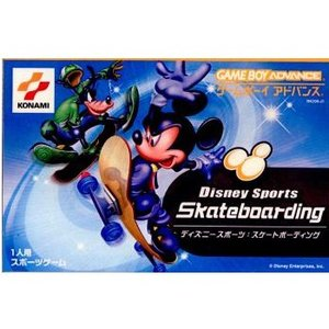 『中古即納』{箱説明書なし}{GBA}Disney Sports:Skateboarding(ディズニースポーツ スケートボーディング)(20020725)|media-world
