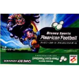 『中古即納』{GBA}ディズニー スポーツ:アメリカン フットボール(Disney Sports:American Football)(20020725)|media-world