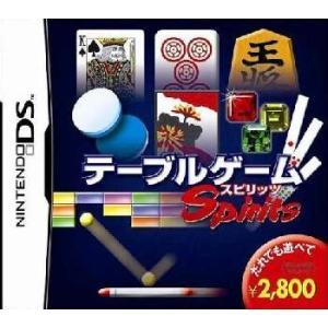 『中古即納』{NDS}テーブルゲームスピリッツ(Table Game Spirits)(20051110)|media-world