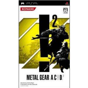 『中古即納』{PSP}METAL GEAR AC!D 2(メタルギア アシッド2)(20051208)|media-world