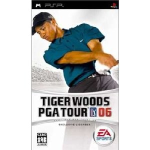 『中古即納』{PSP}タイガー・ウッズ PGAツアー06(Tiger Woods PGA Tour 06)(20060216)|media-world