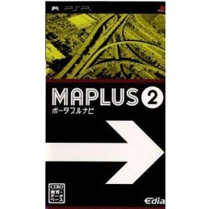 『中古即納』{表紙説明書なし}{PSP}MAPLUS(マップラス) ポータブルナビ2(20071220)|media-world