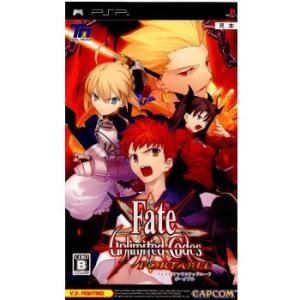 『中古即納』{PSP}Fate/unlimited codes PORTABLE(フェイト/アンリミテッドコード ポータブル)(20090618)|media-world