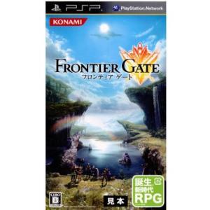 『中古即納』{PSP}フロンティアゲート(Frontier Gate)(20111222)|media-world