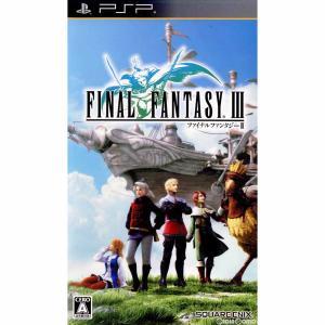 『中古即納』{PSP}FINAL FANTASY III(ファイナルファンタジー3)(20120920)|media-world