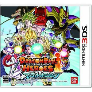 『中古即納』{表紙説明書なし}{3DS}ドラゴンボールヒーローズ アルティメットミッション(20130228)|media-world