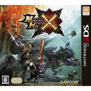 『中古即納』{3DS}モンスターハンタークロス(MONSTER HUNTER X)(モンハンX/MHX)(20151128)|media-world