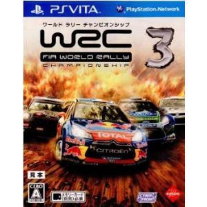 『中古即納』{PSVita}WRC3 FIA WORLD RALLY CHAMPION SHIP(ワールドラリーチャンピオンシップ)(20130131)|media-world