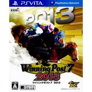 『中古即納』{PSVita}Winning Post 7 2013 (ウイニングポスト7 2013)(20130620)|media-world
