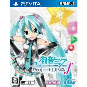 『中古即納』{PSVita}初音ミク -Project DIVA-f お買得版(VLJM-35076)(20131212) media-world