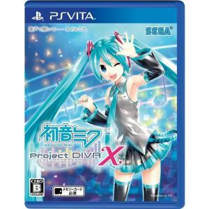 『中古即納』{PSVita}初音ミク -Project DIVA- X(プロジェクトディーヴァ X)(20160324) media-world