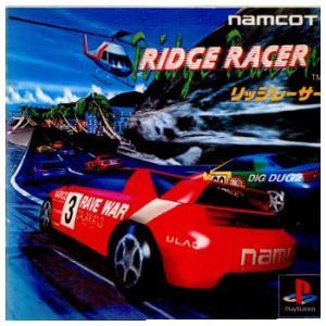 『中古即納』{表紙説明書なし}{PS}リッジレーサー(RIDGE RACER)(19941203)|media-world