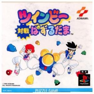 『中古即納』{表紙説明書なし}{PS}ツインビー対戦ぱずるだま(19941209)|media-world