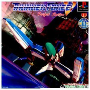 『中古即納』{PS}Thunder Force V Perfect System(サンダーフォース5 パーフェクトシステム)(19980521)|media-world