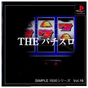 『中古即納』{表紙説明書なし}{PS}SIMPLE1500シリーズ Vol.16 THE パチスロ(19991102)|media-world