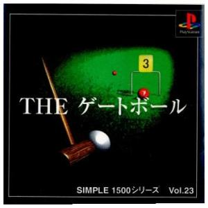 『中古即納』{表紙説明書なし}{PS}SIMPLE1500シリーズ Vol.23 THE ゲートボール(19991209)|media-world