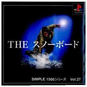 『中古即納』{PS}SIMPLE1500シリーズ Vol.27 THE スノーボード(20000224)|media-world