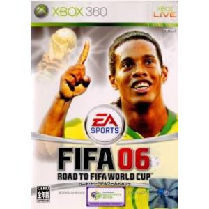 『中古即納』{Xbox360}FIFA 06 ロード・トゥ・FIFA ワールドカップ(Road To FIFA World Cup)(20051210)|media-world