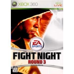 『中古即納』{Xbox360}ファイトナイト ラウンド3(Fight Night Round 3)(20060330)|media-world