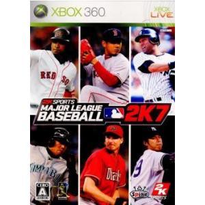 『中古即納』{Xbox360}メジャーリーグベースボール 2K7(Major League Baseball 2K7)(20071108)|media-world