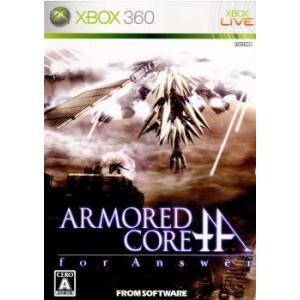 『中古即納』{表紙説明書なし}{Xbox360}ARMORED CORE for Answer(アーマード・コア フォーアンサー)(20080319)|media-world