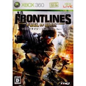 『中古即納』{Xbox360}フロントライン:フュエル・オブ・ウォー(Frontlines: Fuel of War)(20080424)|media-world