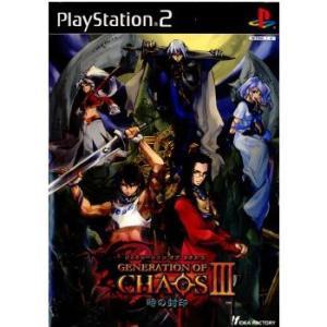 『中古即納』{PS2}GENERATION OF CHAOS 3(ジェネレーションオブカオス3) 〜時の封印〜 通常版(20030508) media-world