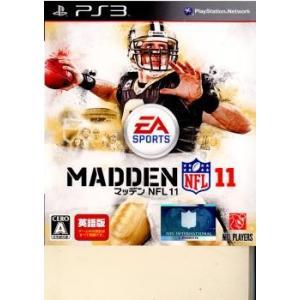 『中古即納』{PS3}マッデン(MADDEN) NFL 11(英語版)(20100930)|media-world