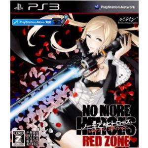 『中古即納』{PS3}ノーモア★ヒーローズ レッドゾーン エディション(NO MORE HEROES RED ZONE EDITION)(20110721)|media-world