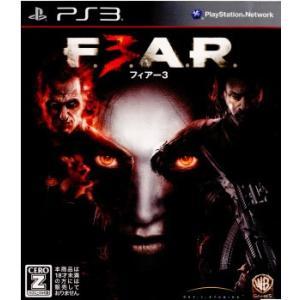 『中古即納』{PS3}F.E.A.R.3(フィアー3)(BLJM-60349)(20110721)|media-world