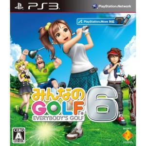 『中古即納』{PS3}みんなのGOLF 6(みんなのゴルフ 6/みんゴル6)(20121122)|media-world