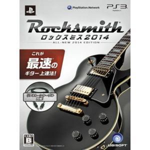 『中古即納』{PS3}Rocksmith 2014 (ロックスミス2014) リアルトーンケーブル同梱版(20131107)|media-world