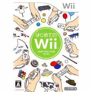 『中古即納』{Wii}はじめてのWii(ソフト単品)(20061202)|media-world
