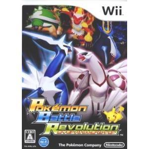 『中古即納』{Wii}ポケモンバトルレボリューション(Pokémon Battle Revolution)(20061214)|media-world