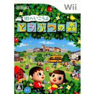 『中古即納』{Wii}街へいこうよ どうぶつの森(ソフト単品)(20081120)|media-world