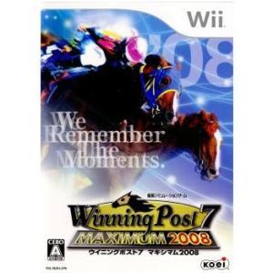 『中古即納』{Wii}ウイニングポスト7 マキシマム2008(Winning Post 7 MAXIMUM2008)(20080313)|media-world