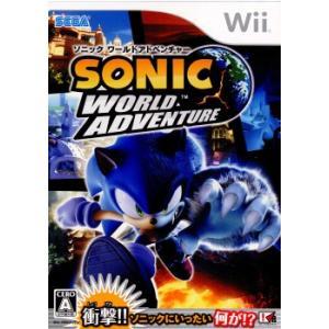 『中古即納』{表紙説明書なし}{Wii}ソニック ワールドアドベンチャー(20081218) media-world