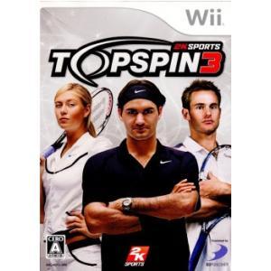『中古即納』{Wii}トップスピン3(TOP SPIN 3)(20090903)|media-world