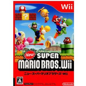 『中古即納』{Wii}New(ニュー) スーパーマリオブラザーズ Wii(20091203)|media-world