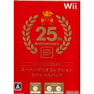 『中古即納』{表紙説明書なし}{Wii}スーパーマリオコレクション スペシャルパック(サントラCD・ブックレット同梱)