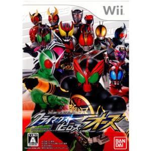 『中古即納』{表紙説明書なし}{Wii}仮面ライダー クライマックスヒーローズ オーズ(20101202)|media-world