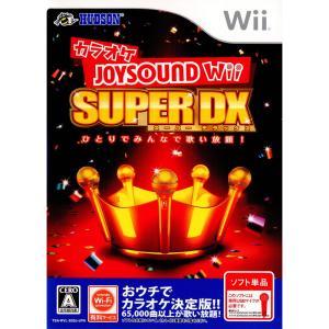 『中古即納』{表紙説明書なし}{Wii}カラオケJOYSOUND Wii SUPER DX (ジョイサウンドWiiスーパーデラックス)(ソフト単品)(20101209)|media-world