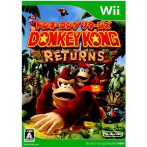 『中古即納』{表紙説明書なし}{Wii}ドンキーコング リターンズ(DONKEY KONG RETURNS)(20101209) media-world