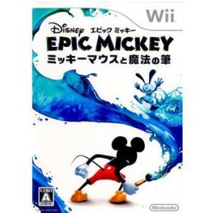 『中古即納』{Wii}ディズニー エピックミッキー 〜ミッキーマウスと魔法の筆〜(20110804)|media-world