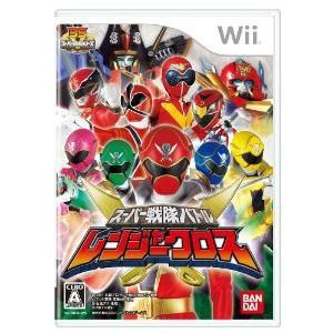 『中古即納』{表紙説明書なし}{Wii}スーパー戦隊バトル レンジャークロス(20110908)|media-world
