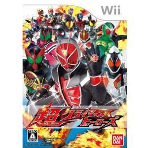 『中古即納』{Wii}仮面ライダー 超クライマックスヒーローズ(20121129)|media-world