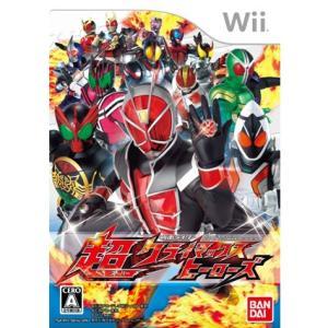 『中古即納』{表紙説明書なし}{Wii}仮面ライダー 超クライマックスヒーローズ(20121129)|media-world