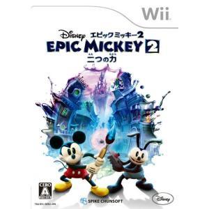 『中古即納』{Wii}ディズニー エピックミッキー2:二つの力(20130926)|media-world