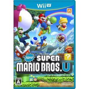 『中古即納』{表紙説明書なし}{WiiU}New スーパーマリオブラザーズU(20121208)|media-world