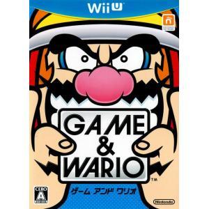 『中古即納』{WiiU}ゲーム&ワリオ(GAME & WARIO)(20130328)|media-world